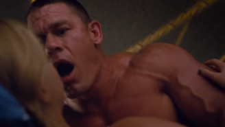 John Cena Talks His 'Trainwreck' Sex Scene And Making His Mother Proud With A Penis Sock