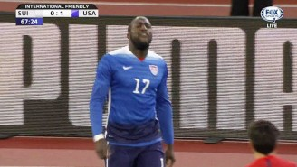 Watch Jozy Altidore Get A Red Card After Yelling 'F*ck You' At A Ref