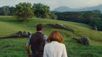 The D-Rex Is 'Killing For Sport' In The New 'Jurassic World' TV Spot