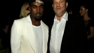 Harvey Weinstein Thinks That Kanye West Will Make A Great Filmmaker