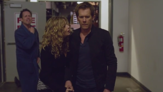 Kevin Bacon Thinks Everyone Is Out To Kill Him In This Parody Of 'The Following'