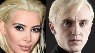 Draco Malfoy's perfect response to Kim Kardashian stealing his look