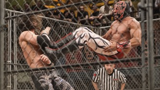 King Cuerno In A Steel Cage Is All You Need To Know About This Week's Exclusive Lucha Underground Clip