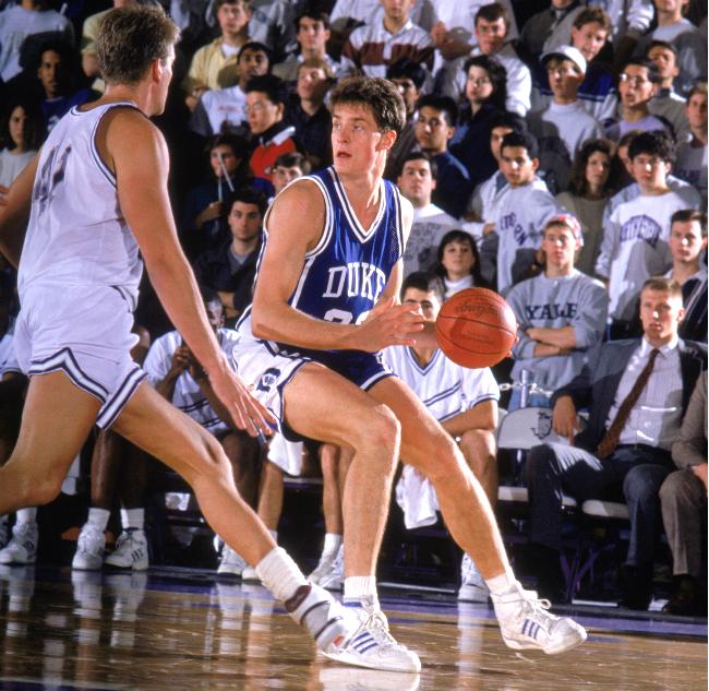 Christian Laettner Duke Player