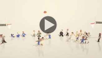 Watch This Incredible Claymation Of Christian Laettner's 'The Shot'