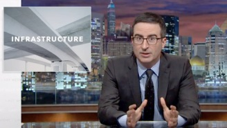 'Last Week Tonight with John Oliver' Takes On The USA's Crumbling Infrastructure