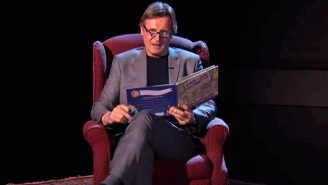 Liam Neeson Reads A Bedtime Story, Imparts A Valuable Lesson About Monkeys