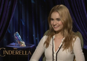 Lily James, your new Cinderella, has another Disney dream role: Ursula