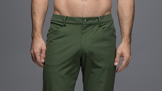 Anti-Ball Crushing Pants For Men Just Might Save Lululemon