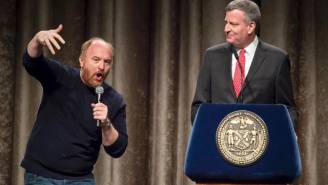 Watch Louis CK Roast NYC Mayor Bill de Blasio By Translating His Inner Thoughts
