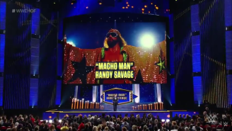 Watch Lanny Poffo Induct Macho Man Randy Savage Into The WWE Hall of Fame
