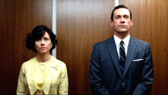 Someone Counted Every Single Elevator Scene On 'Mad Men'