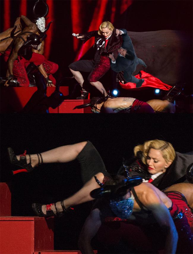 Tom Cruise and IMF secretly masterminded Madonna's fall.
