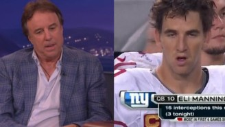Everyone's Favorite Comedian Eli Manning Played A Childish, Amusing Prank On Kevin Nealon At SNL40