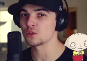 Watch An Impressionist Make Stewie Griffin, Hank Hill, And More Cartoons Sing 'Uptown Funk'