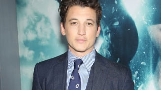 Why Miles Teller just wants to be eye candy in a female-driven film