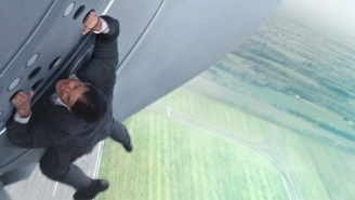 Tom Cruise Is 'Scared Sh*tless' In This Look At The Airplane Stunt In 'Mission: Impossible – Rogue Nation'