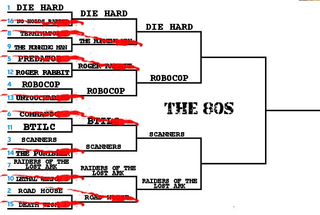 Movie Death Scenes Round 3 80s