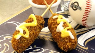 Nachos On A Stick Is Baseball's Latest Attempt To Put Us Six Feet Under