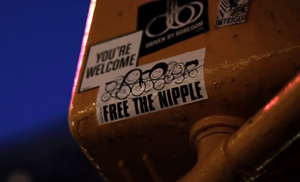A High School Computer Aide Has Been Disciplined For Appearing Topless In 'Free The Nipple'