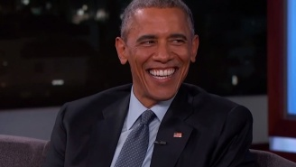 Watch President Obama Troll Jimmy Kimmel About The Existence Of Aliens