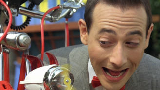 Judd Apatow gives us our first peek at Pee-Wee Herman back at work