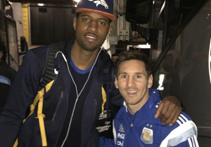 Paul George, Pacers Hang With Lionel Messi, Argentina National Team After Buzzer-Beating Win