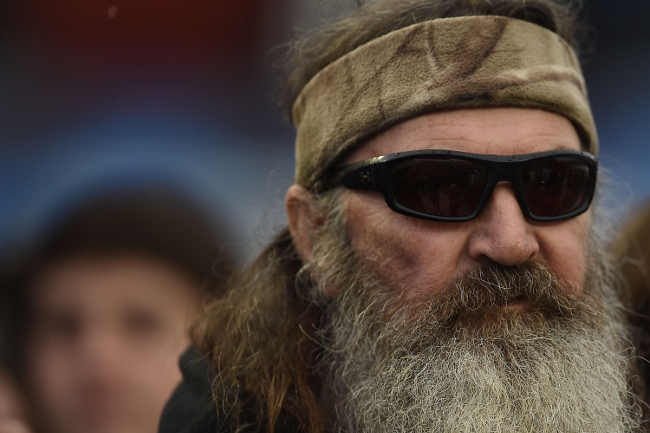 Phil Robertson at the Duck Commander Bowl