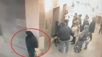 Watch This Woman Poop Right On The Floor Of A Busy Turkish Hospital