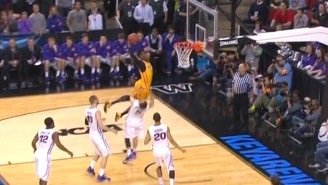 This Monster Dunk By Wyoming Was Called A Charge, But It Was Still Awesome