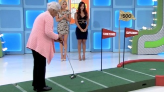 Watch An 84-Year-Old Woman Sink A Putt To Win A New Car On 'The Price Is Right'