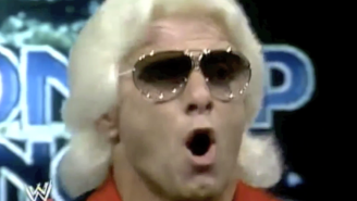 Ric Flair With A Random Spanish Dub Is The Only Ric Flair You Need