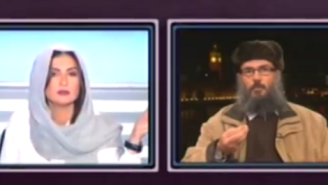 Check Out This Lebanese TV Host Shut Down This Sexist Sheik Mid-Interview