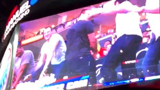 Here's Rob Gronkowski Twerking At The Clippers Game