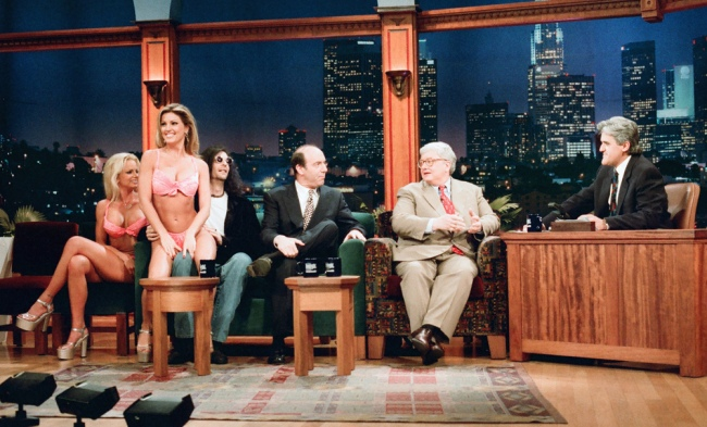 Siskel and Ebert in 1995, in the most 1995 of pictures.
