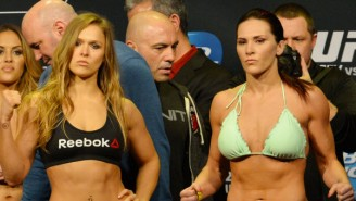 Will Ronda Rousey Ever Fight A Man? One Gambling Website Has Set The Odds.