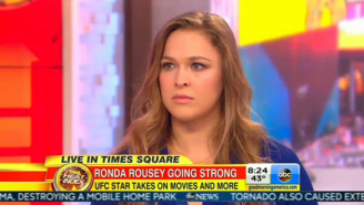 Ronda Rousey Accurately Claims She's 'The Biggest Draw In The Sport'