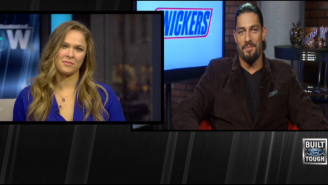 Roman Reigns Tells Ronda Rousey He Would Have A Hair Versus Hair Match