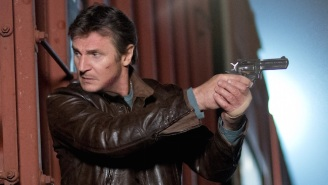 Liam Neeson Holding A Pistol: A History Of Our Most Popular Poster Trend
