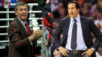 Craig Sager Knows Chris Bosh Will Recover Because '[Erik] Spoelstra Sent Me Care Packages From Hooters'