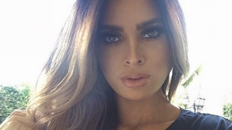 Meet The Costa Rican Model Who's Allegedly Very Pregnant, Though She Doesn't Look It