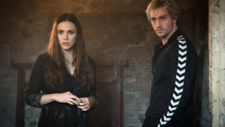 The Scarlet Witch and Quicksilver on head games and super speed in 'Ultron'