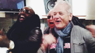 Here's What It Looks Like When Bill Murray And Rick Ross Hang Out