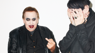 Marilyn Manson's Makeup-Wearing Dad Embarrassed His Son During A Photoshoot