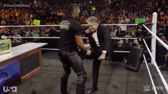 Jon Stewart And Seth Rollins Came To (Low) Blows On WWE Raw