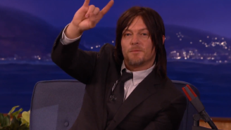 Norman Reedus From 'The Walking Dead' Explains Why He Enjoys Licking People All The Time