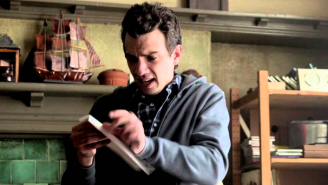 Josh Sifts Through Boyfriend Admission Letters In This Exclusive 'Man Seeking Woman' Clip