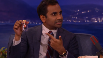 Aubrey Plaza Gave Aziz Ansari A Vial Of Her Blood And Hair As A 'Parks And Recreation' Going Away Gift
