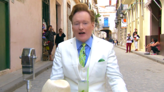 Conan Creeps On The Locals And Memorizes Some Spanish In These Previews For 'Conan In Cuba'