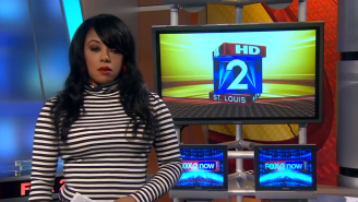 This Reporter Was Caught Off Guard By Her Co-Host Comparing Her To A McDonald's Character